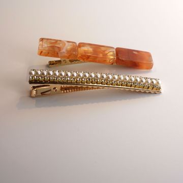 golden-resin-hairclips-collection