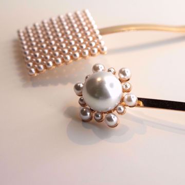 flower-pearl-hairclip-collection