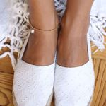 Picture of pearl ankle bracelet | golden