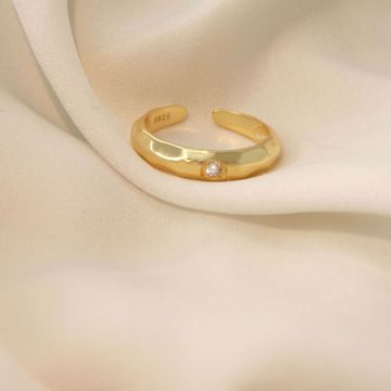 Imagem de Statement golden ring