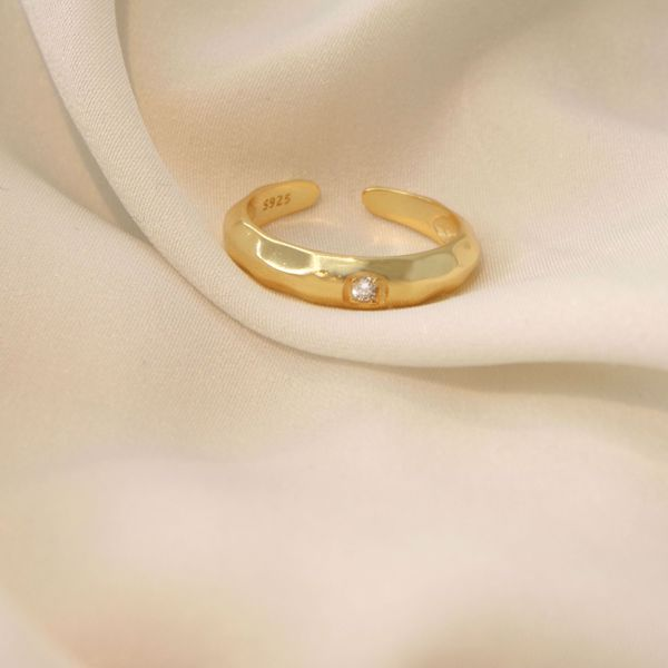 Imagem de Statement golden ring