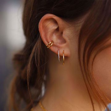 Picture of Claw ear cuff | golden