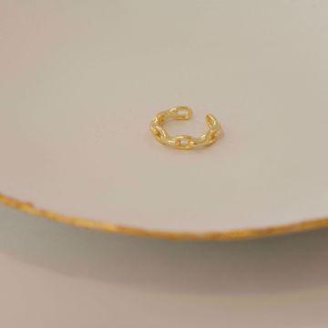 Imagem de Chain ear cuff | golden
