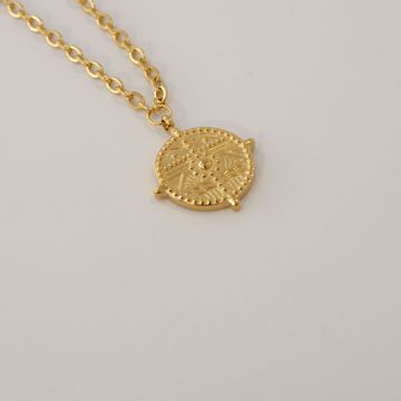 Imagem de Wonder coin necklace | Golden