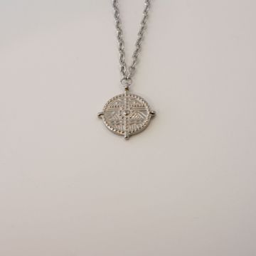 Imagem de Wonder coin necklace | Silver
