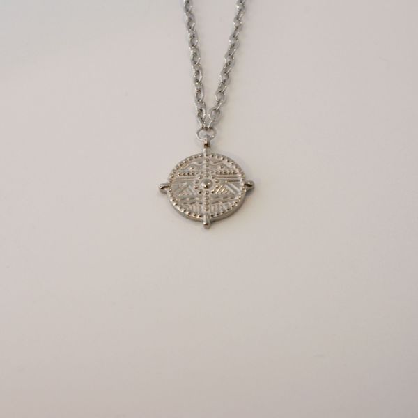 Picture of Wonder coin necklace | silver