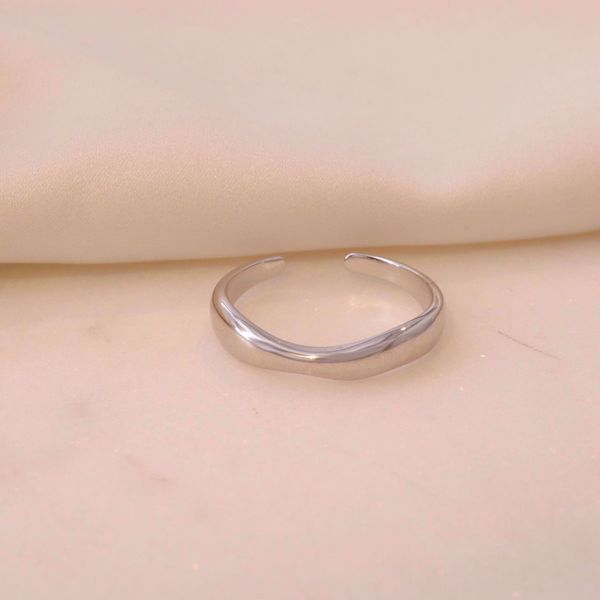 Imagem de Wind Bold Ring | Silver