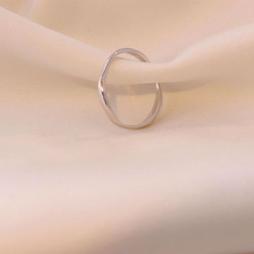 Picture of Wind thin ring | silver