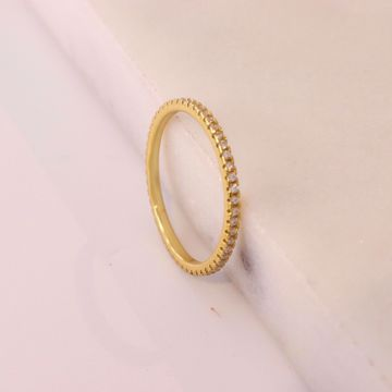 Picture of Shine minimal ring | golden