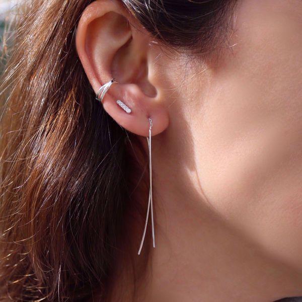Imagem de WIND DANGLE EARRINGS | Silver