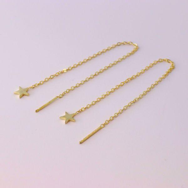 Imagem de Star minimal earrings | golden