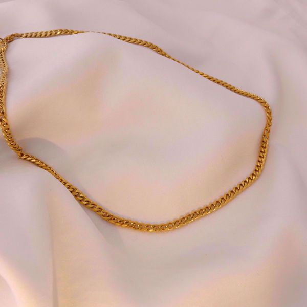 Imagem de Simple chain necklace | Golden