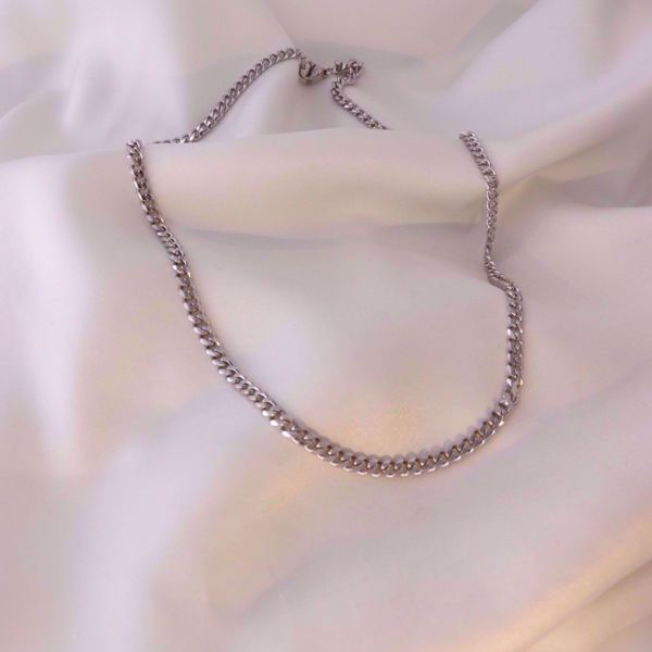 Picture of Simple chain necklace | silver
