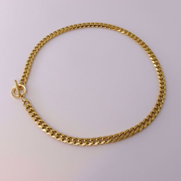 Imagem de Statement chain necklace | golden