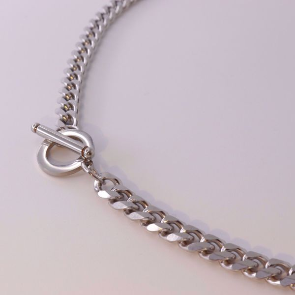 Imagem de Statement chain necklace | silver