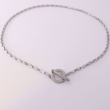 Picture of Squares necklace | silver