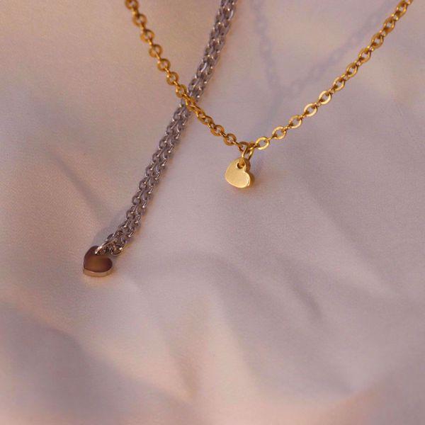Imagem de Little heart necklace | Golden
