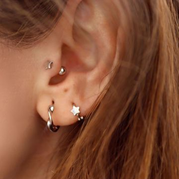 Picture of Star piercing | silver