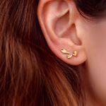 Picture of Leaves ear cuff | rose gold