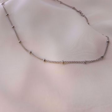 Picture of Beads necklace | silver