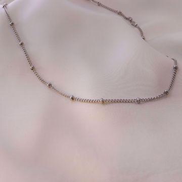 Imagem de Beads necklace | Silver