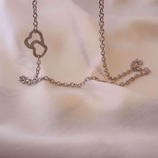 Imagem de Mix hearts necklace | Silver