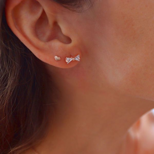 Picture of Bow piercing | rose gold