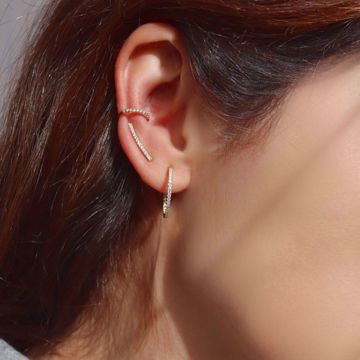 Imagem de BRIGHT EAR CUFF | Golden