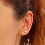 Picture of Beatriz  piercing | silver
