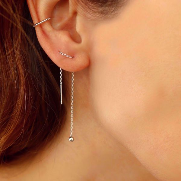 Picture of Beatriz ear cuff | silver