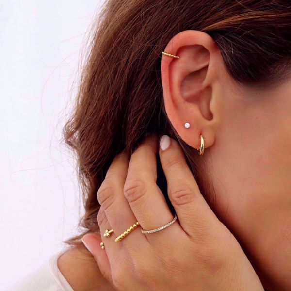 Picture of Beatriz ear cuff   golden