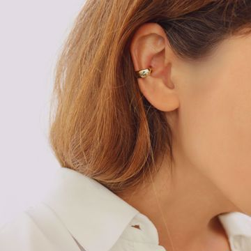 Picture of Bold ear cuff | golden