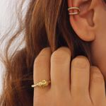 Picture of Alice ear cuff | golden