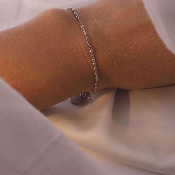 Imagem de simple bracelet | silver