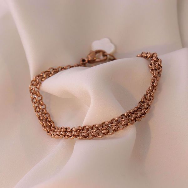 Picture of Coin bracelet | rose gold