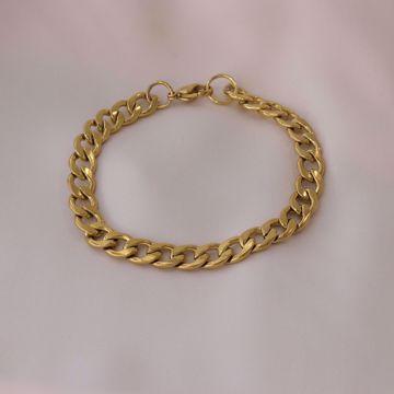 Picture of Bold bracelet | golden