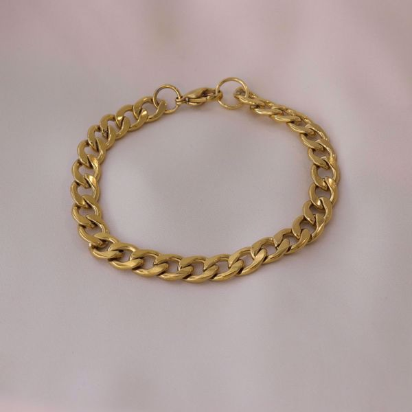 Picture of Bold bracelet | golden