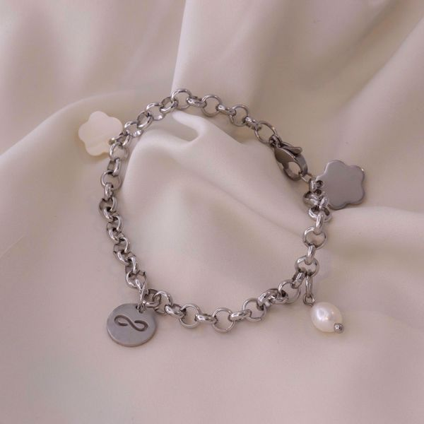 Picture of Charm bracelet infinite | silver