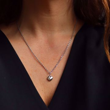 Picture of Heart necklace | silver