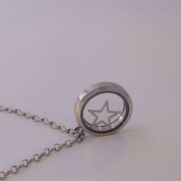 Picture of Star locke necklace | silver