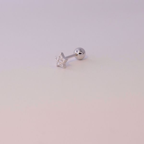 Picture of Star shine piercing | silver