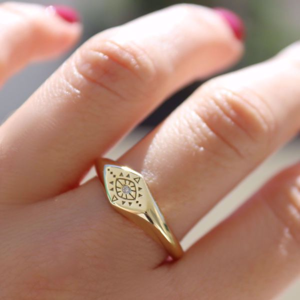Picture of Boho signet ring