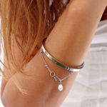 Picture of Beads pearl bracelet | silver