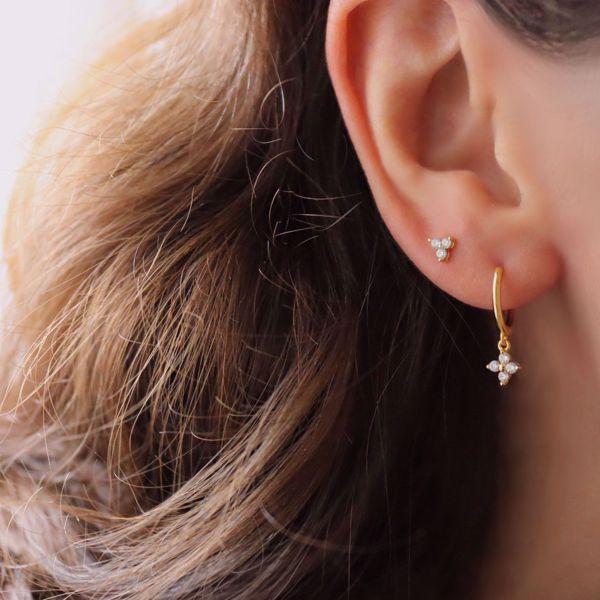 Imagem de Julia stud earring | golden