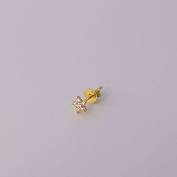 Picture of Magui stud earring | golden