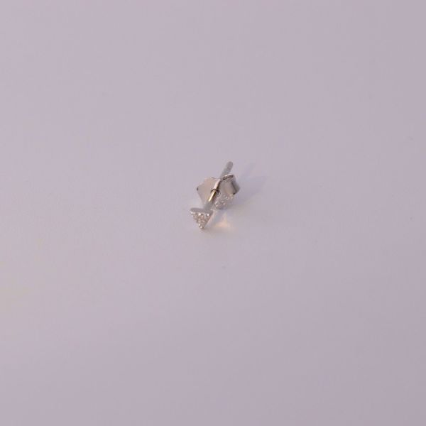 Picture of Minimal stud earring | silver