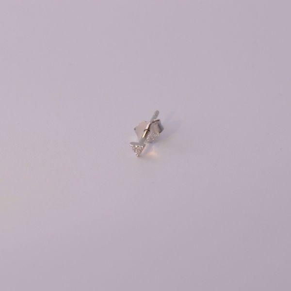 Imagem de Minimal stud earring | silver