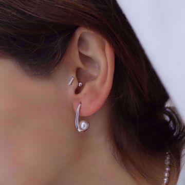 Imagem de Gemma earrings | silver
