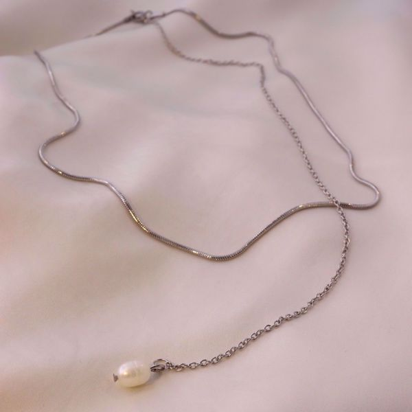 Picture of Emilie necklace | silver