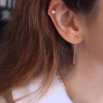 Imagem de Phoebe ear cuff | golden